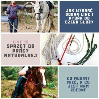 Live 15 Sprzęt do naturalnego treningu koni
