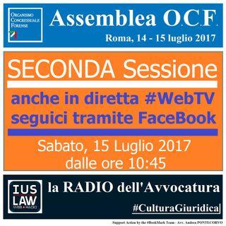 Assemblea OCF - 14/15 Luglio 2017 (SECONDA sessione)