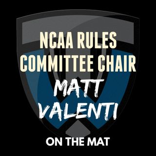 Two-time NCAA champion, NCAA Wrestling Committee Chair Matt Valenti of Penn - OTM570