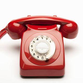 llamada telefónica sin buenos dias