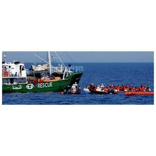 Episode 397: Migrants, NGOs & the Mediterranean with Claude Berube, Chris Rawley