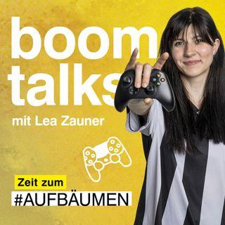 #2 Boom Talks mit Lea Zauner über Gaming & Frauenpower in einer Männerdomäne