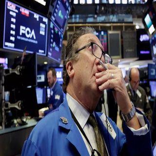 Temor de recesión provoca caída en Wall Street