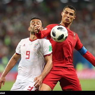 Iran-Portogallo 1-1: Beiranvand neutralizza il rigore di Cristiano Ronaldo, Ansarifard pareggia. Considerazioni su top e flop del Team Melli