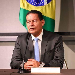 REPÓRTER REGIONAL - Vice-presidente Hamilton Mourão está em Florianópolis