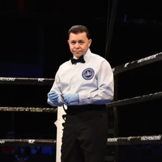 Ringside Boxing Show: Benjy Esteves shares 27 memorable years as one of boxing's best refs ... and we review a wild, weird week in boxing