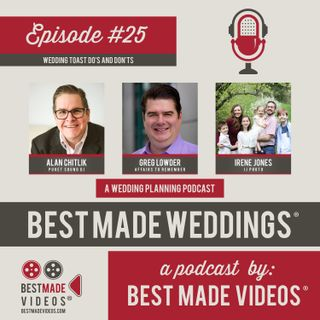 Episode 25 (Wedding Toast Do's and Don'ts)
