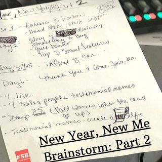 SB #7: New Year, New Me Brainstorm: Part 2