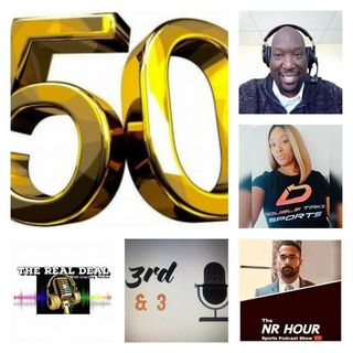 THE BIG 50 EPISODE AND ONE YEAR CELEBRATION