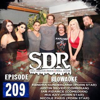 Kendra Sunderland, Justin Silver, Ian Fidance, Mia Kay & Nicole Paris (Porn Stars & Comedians) - Blowaoke