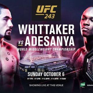 Roundtable: UFC 243 'Whittaker v. Adesanya'