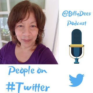 People on Twitter by Billy Dees Interview with @dmartinwebster Author, Photographer, and More