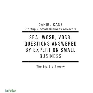 SBA, WOSB, VOSB. Questions Answered by Expert on Small Business.