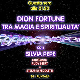 Forme d'Onda - Silvia Pepe - Dion Fortune: tra Magia e Spiritualità - 26^ puntata (30/04/2020)