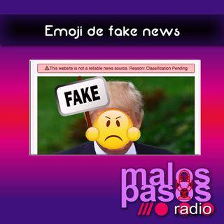 emoji de fake news