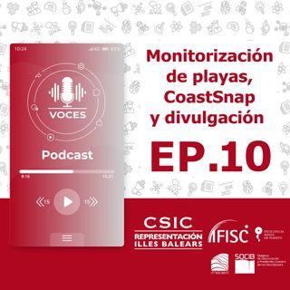 Monitorización de playas, CoastSnap y divulgación #10