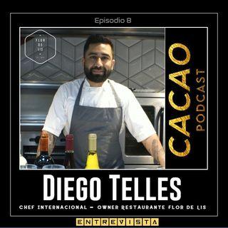 E8 Entrevista a Diego Telles Chef en Restaurante Flor de Lis / Uno de los 50 Best Restaurants in Latin America