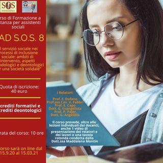 FAD S.O.S. 8 - Terzo podcast - Giovanni Evangelista - Imprenditorialità sociale...