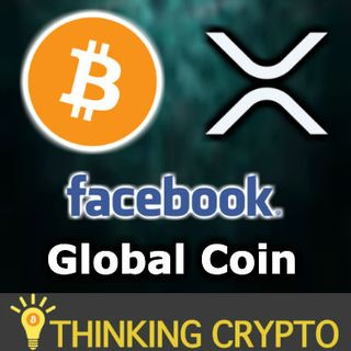 BITCOIN MORE POPULAR THAN TRUMP TESLA & MORE - FACEBOOK GLOBAL COIN WILL KILL RIPPLE XRP?