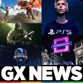 GX News 012 - El Rubius, PS5 agotada, Immortal Fenix Rising, Movistar Riders y Rainbow Six.