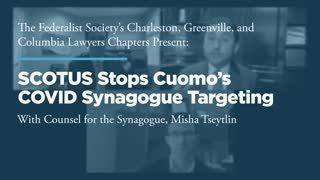 SCOTUS Stops Cuomo's COVID Synagogue Targeting