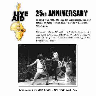 13 Luglio 1985: Queen @ Live Aid