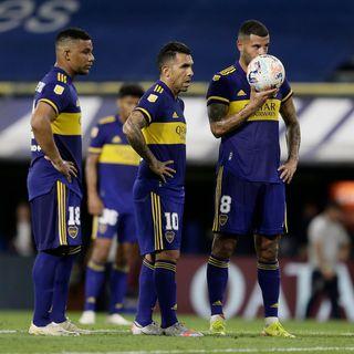 Gol de Boca: Edwin Cardona 2-2