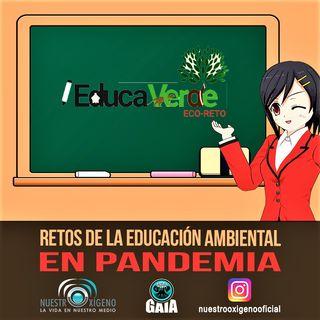NUESTRO OXÍGENO Retos de la educacion ambiental en la pandemia - Luis Manuel Guerra