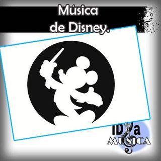 Música de Disney.