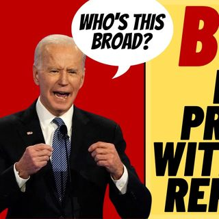"""""""PAIN IN THE NECK"""" BIDEN Snaps At Female Reporter Again"""