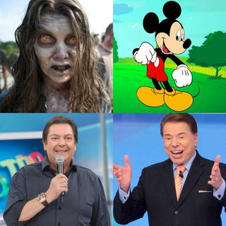 Talkei Show #01: Zumbi, Mickey Mouse, Fausto Silva e Silvio Santos