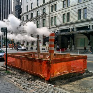 Steam pipes y fumarolas