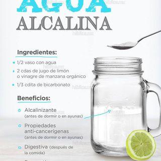 Beneficios de tomar agua alcalina - Parte 3