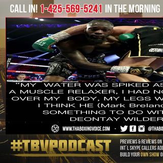 ☎️Deontay Wilder-Tyson Fury Scandal❗️Loaded Gloves😱Tampered Water💦 and Disloyal Trainers 🤷🏽‍♂️