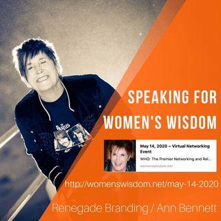 Ann Bennet founder of renegade branding