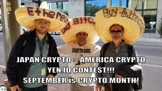 The FAR East is WAKING UP... SEPTEMBER is YOUR MOST IMPORTANT CRYPTO MONTH! YEN.IO CONTEST!