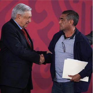 AMLO se compromete con presos políticos
