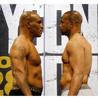 Mike Tyson & Roy Jones jr.