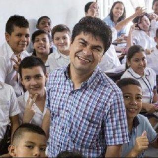 Entrevista con Jeison Aristizábal el Heroe de CNN desde su fundacion en cali. por liliana Gonzalez