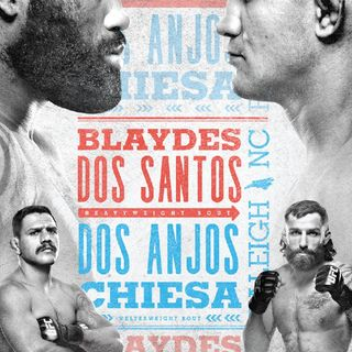 Preview Of The UFCONESPN Card Headlined By Junior Dos Santos-Curtis Blaydes In A Big Heavyweight Division Fight!In Raleigh NC