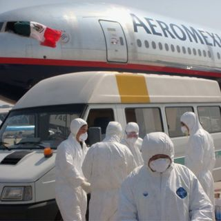 10 mexicanos pudieron salir de China gracias a Francia