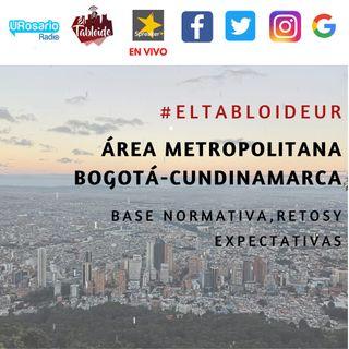 Área metropolitana Bogotá - Cundinamarca: base normativa, retos y oportunidades