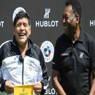 Espero podamos jugar juntos en el cielo: Pelé