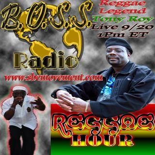 [Live Interview] Tony Roy Reggae
