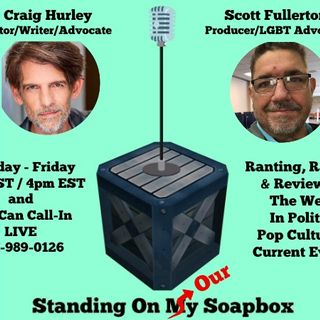 Left of Str8 Radio:  2-19-19 Standing on our Soapox; Left of Str8 Show