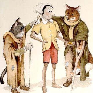 PINOCCHIO capitolo 12 - Il gatto e la volpe.