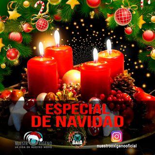 NUESTRO OXÍGENO Especial de Navidad - NO a la pólvora