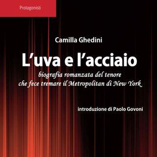 """Pare un Libro Stampato  - """"L'Uva e l'Acciaio'"""" di Camilla Ghedini con l'introduzione di Paolo Govoni"""