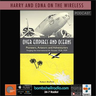Harry & Edna on the Wireless ~ Author Bob Bluffield