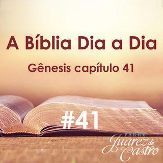 Curso Bíblico 41 - Gênesis Capítulo 41 - Os Sonhos do Faraó - Padre Juarez de Castro
